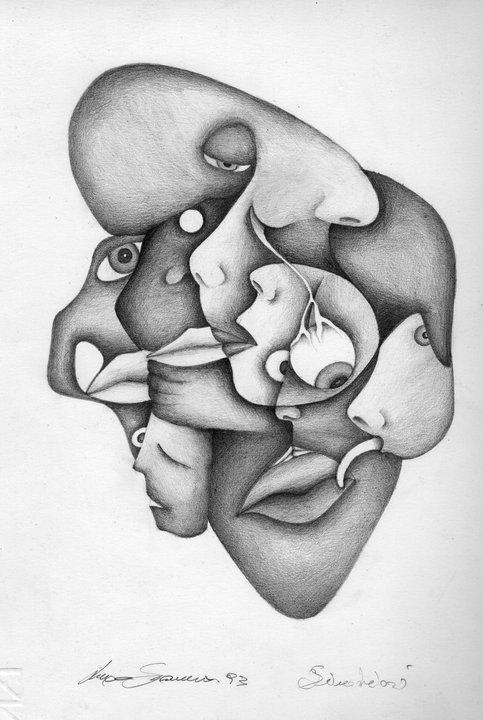 Simbiosi-disegno di Luca Sanna