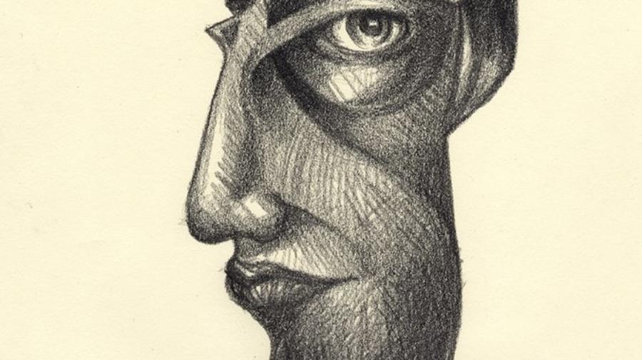 Diavoletto disegno a matita di Luca Sanna