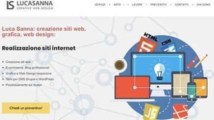 Luca Sanna realizzazione siti internet