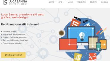 Luca Sanna website