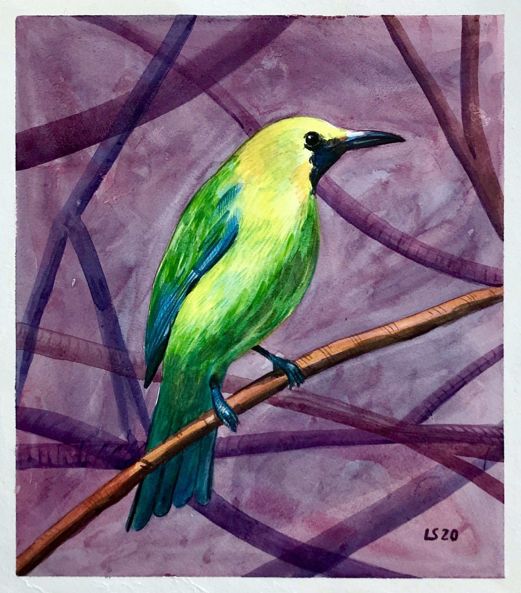 Leafbird di Luca Sanna