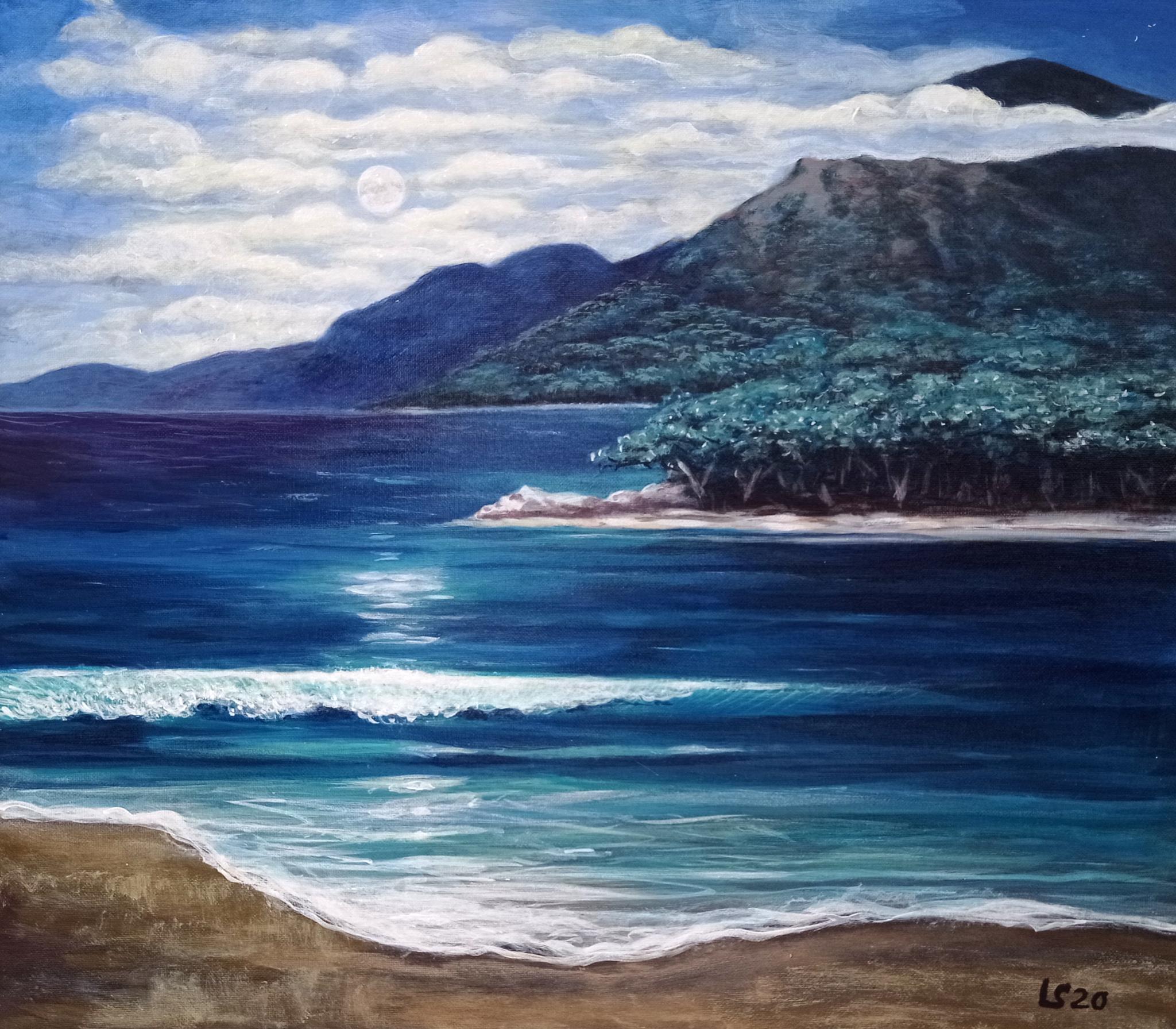 Il mare di notte di Luca Sanna